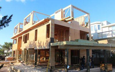 Ocean Front Home: Taking Shape